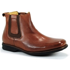 Anatomic & Co Wide Fit Chelsea Boots - Amazonas - Tan Brown Floater