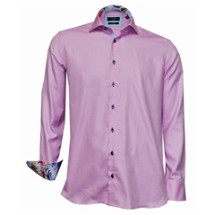 Giordano Shirt - Pink Twill - Modern Fit - Size 3XL Only