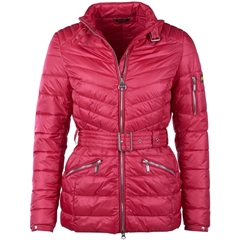 Autumn 2018 Barbour International Women's Hedemora Jacket - Fuchsia