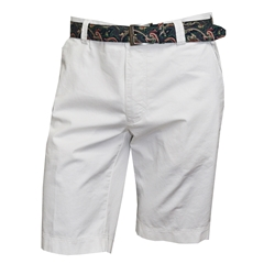 Meyer Summer Cotton Shorts - White - Palma B 3116 40