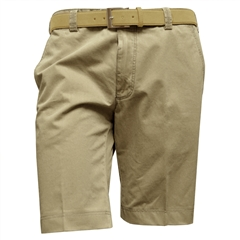 "Meyer Luxury Cotton Shorts - Fawn - 40"" Waist Only"