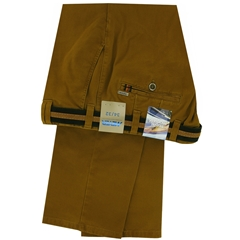 Meyer Cotton Trouser - Cinnamon  - Oslo 5552 42