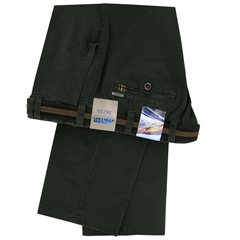 Meyer Cotton Trouser - Olive  - Oslo 5552 26
