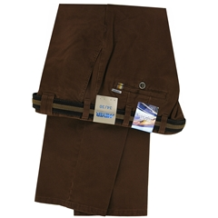 Meyer Cotton Trouser - Hickory  - Oslo 5552 45