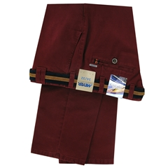Autumn 2018 Meyer Cotton Trouser - Maroon - Oslo 5552 54