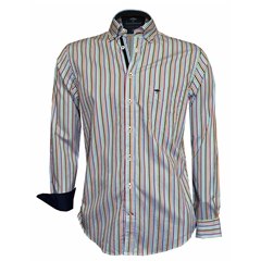 Fynch Hatton Shirt - Multicolour Stripe