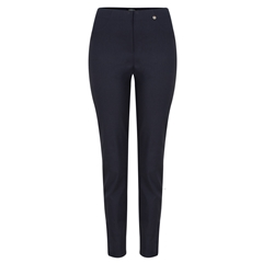 Autumn 2018 Robell Trousers - Bella Slim Fit - Navy