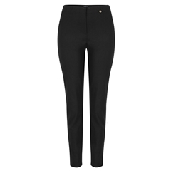 Autumn 2018 Robell Trousers - Bella Slim Fit - Black