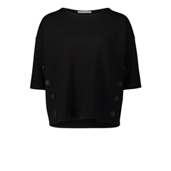 Autumn 2018 Betty Barclay Button Detail Top - Black