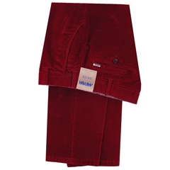 Meyer Italian Corduroy Trouser - Red - Bonn 3700 55