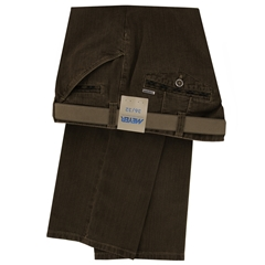 Autumn 2018 Meyer Cotton Trouser - Camel - Chicago 5555 44