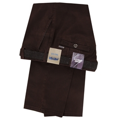 Autumn 2018 Meyer Cotton Trouser - Bordeaux - New York 5550 57