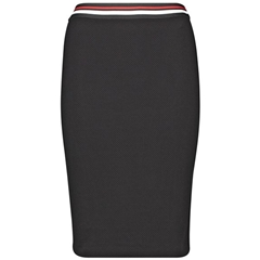 Gerry Weber Contrast Skirt - Black