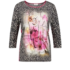 Gerry Weber Animal Print Top - Multi