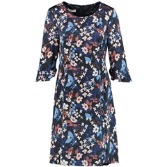 Gerry Weber Floral Dress - Indigo