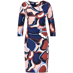 Gerry Weber Wrap Over Dress - Multi