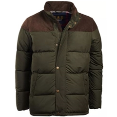 Autumn 2018 Barbour Men's Sean Quilted Jacket - Sage