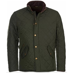 Autumn 2018 Barbour Men's Powell Quilt - Sage/Olive