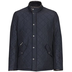 Autumn 2018 Barbour Men's Powell Quilt - Navy