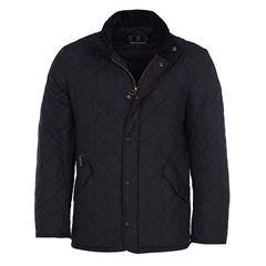 Autumn 2018 Barbour Men's Navy Chelsea Sportsquilt - Black