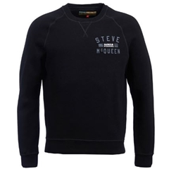 Autumn 2018 Barbour Men's Steve McQueen Voxan Crew Sweatshirt - Black - Size Medium Only