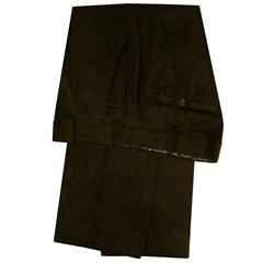 Meyer Corduroy Trouser - Brown - Roma 437 36