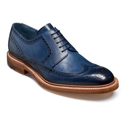 Barker Bailey 2 - Navy Hand-Painted