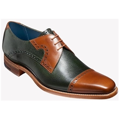 Barker Ashton - Green Grain / Walnut Calf