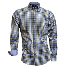 Fynch Hatton Shirt - Supersoft Twill - Everglade Blue
