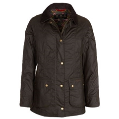 Autumn 2018 Barbour Abbey Wax Cotton Jacket - Olive