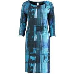Autumn 2018 Pomodoro Canvas Dress - Kingfisher