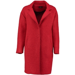 Autumn 2018 Pomodoro Wool Blend Coat - Poppy