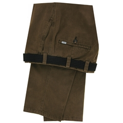 M.E.N.S  Luxury Cotton Chino - Brown