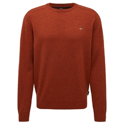 Fynch-Hatton Wool & Cashmere Crew Neck - Fox