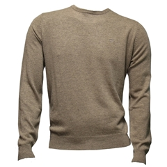 Fynch-Hatton Wool & Cashmere Crew Neck - Earth