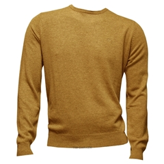 Fynch-Hatton Wool & Cashmere Crew Neck - Honeydew