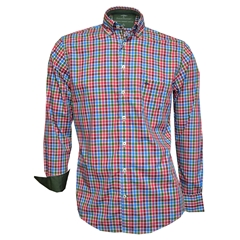 Fynch Hatton Shirt - Amaranth Seaside