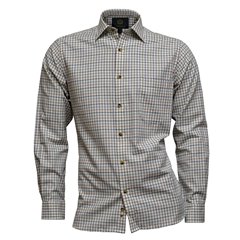Viyella Tattersall Check Shirt - Plum