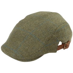 Alan Paine Country Collection - Combrook Unisex Country Cap - Lagoon