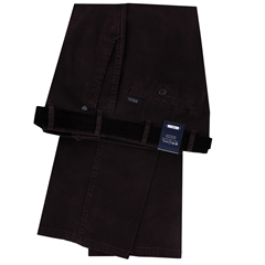 Autumn 2018 Bruhl Cotton Gabardine Trouser - Mulberry - Montana 183240 870