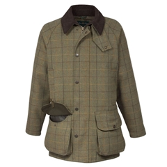 Alan Paine Country Collection - Rutland Men's Waterproof Coat- Dark Moss