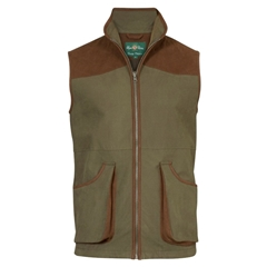 Alan Paine Country Collection - Berwick Men's Waterproof Waistcoat - Olive - Size Large Only