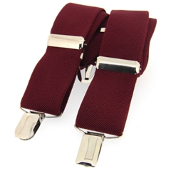 Standard Clip-On Brace - Wine
