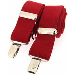 Standard Clip-On Brace - Red