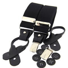 Standard Dual-End Braces - Black