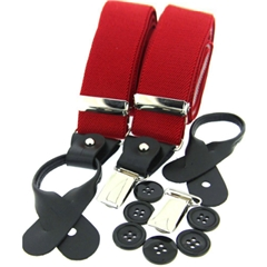 Standard Dual-End Braces - Red