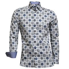 Giordano White Diamonds Shirt