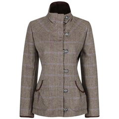 Autumn 2018 Dubarry of Ireland Bracken Tweed Sports Jacket - Woodrose