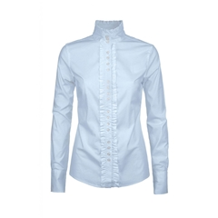 Autumn 2018 Dubarry of Ireland Chamomile Ladies Country Shirt - Blue