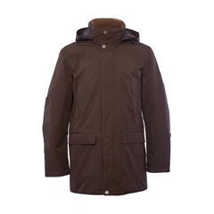 Autumn 2018 Dubarry of Ireland Mens Ballywater Coat - Coffee Bean